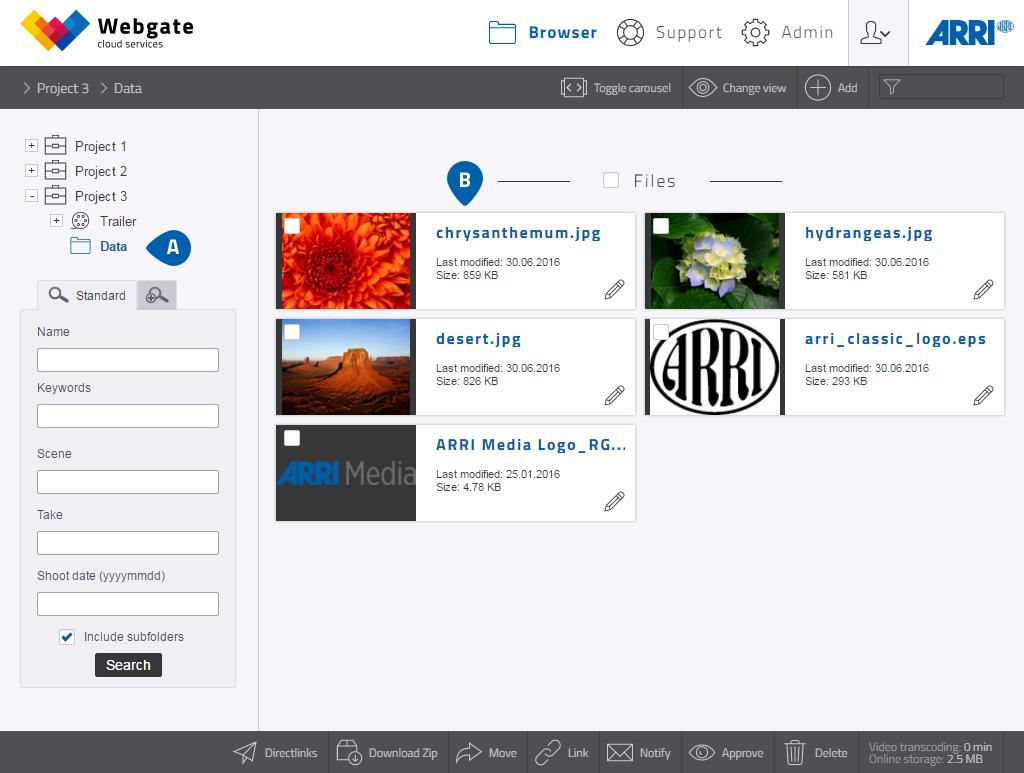 ARRI Webgate Guide